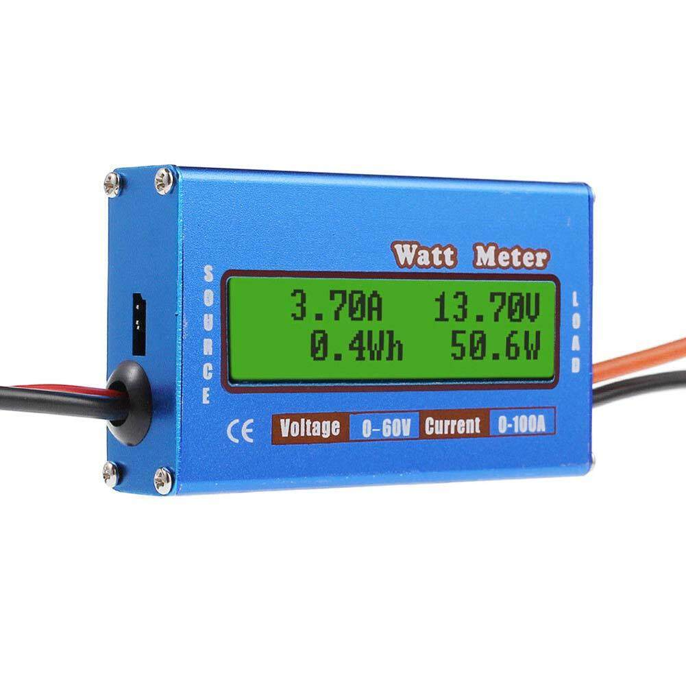 Car Battery Tester For Sale Load Online Brands Circuit Diagram Digital Watt Meter Wiring Dc Ybc Monitor Lcd 60v 100a Ammeter Rc Power Amp Analyzer