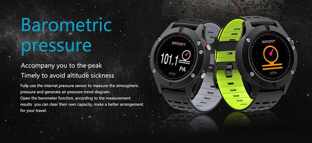 NO.1 F5 Heart Rate Monitor Smart Watch GPS Heart Rate Monitor Wristband