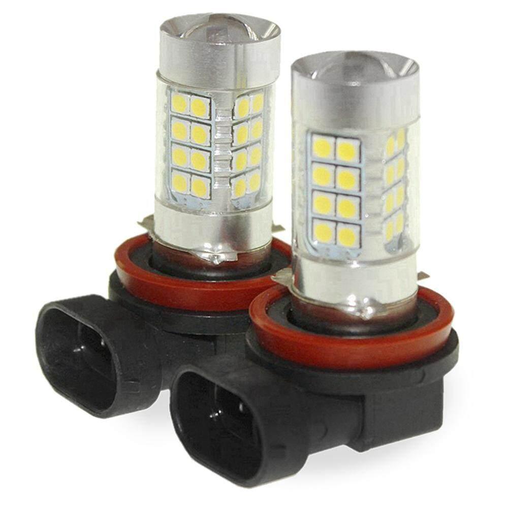 Sencart 2 Pcs H8 PGJ19-1 LED AC/DC 9-36 V/1500-1800LM Lampu Depan Mobil /Tinggi/Rendah Lampu Sorot