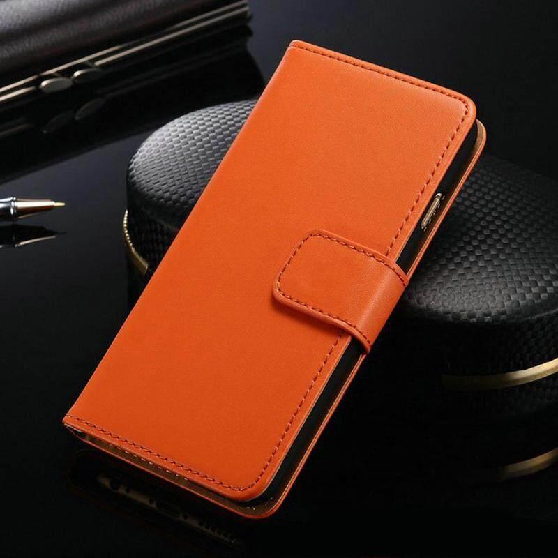 Dompet Flip Casing untuk Alcatel One Touch POP C9 Telepon Kulit PU Tas Case untuk OT7047 Bisnis Casing Belakang Cover