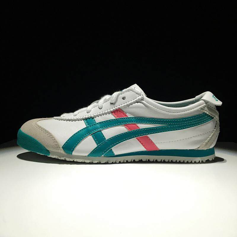 Sports Shoes New Arrival Official Top Quality CUPSOLE Women's Sneakers Running Shoes OCTIPOD Non-Slip FlyteFoam Asics-Onitsuka-Tiger Mexico 66 White Green EU:36 - intl