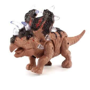 ขายช็อก MayLer Store Simulation Dinosaur Red Plastic Flashing Toys ซื้อเลย - มีเพียง ฿304.79