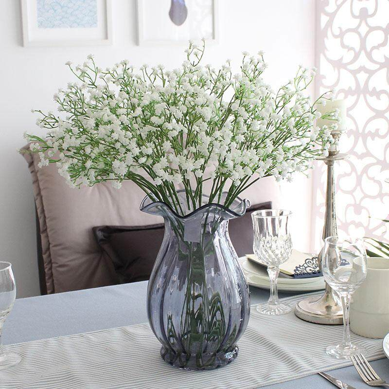 Broadfashion 1 Pc 2 Branches Artificial Gypsophila Flower Wedding Party Home Room Decor intl. Source. Source · Sky Stars Silk Babysbreath Flower For Wedding ...