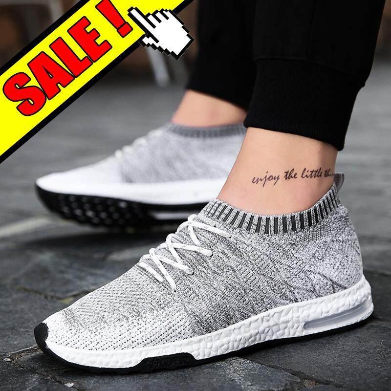 Yealon Asli Sepatu Sneaker Pria Super Sneaker Keren Pria Sepatu Lari untuk Pria Krasovki Pria Sock DART Sepatu Lari Sneaker Olahraga Sneaker Man's Sepatu Lari besar Size39-46