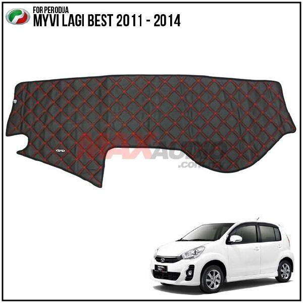 PERODUA MYVI LAGI BEST 2011 - 2014 DAD GARSON VIP Custom Made Non Slip Dashboard Cover Mat