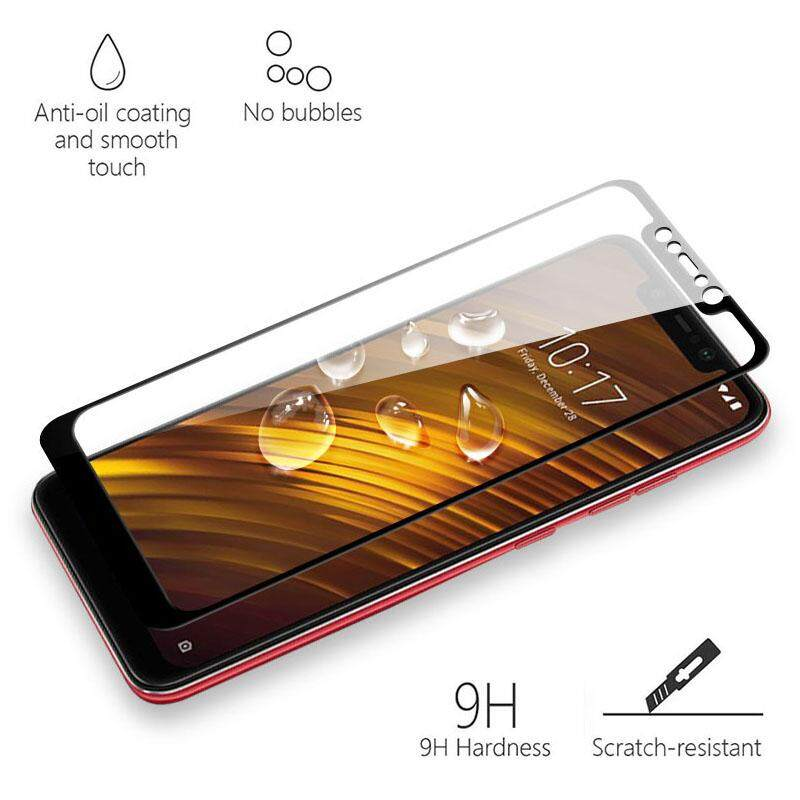 9H 5D Full Screen Coverage Protector Tempered Glass For Xiaomi PocoPhone F1