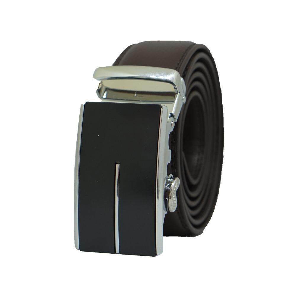 [100% CALF LEATHER] Premium Quality Best Seller MB035 Business Men Leather Belt [BLACK/READY STOCK] - Adjustable Strap for Size S , M , L , XL