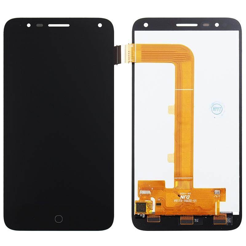 Layar LCD dan Digitizer Penuh Perakitan untuk Alcatel Satu Sentuhan Pop 4/5051 (Hitam)