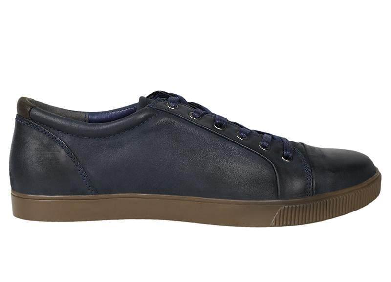 Tomaz C268 Leather Cap-toe Sneakers