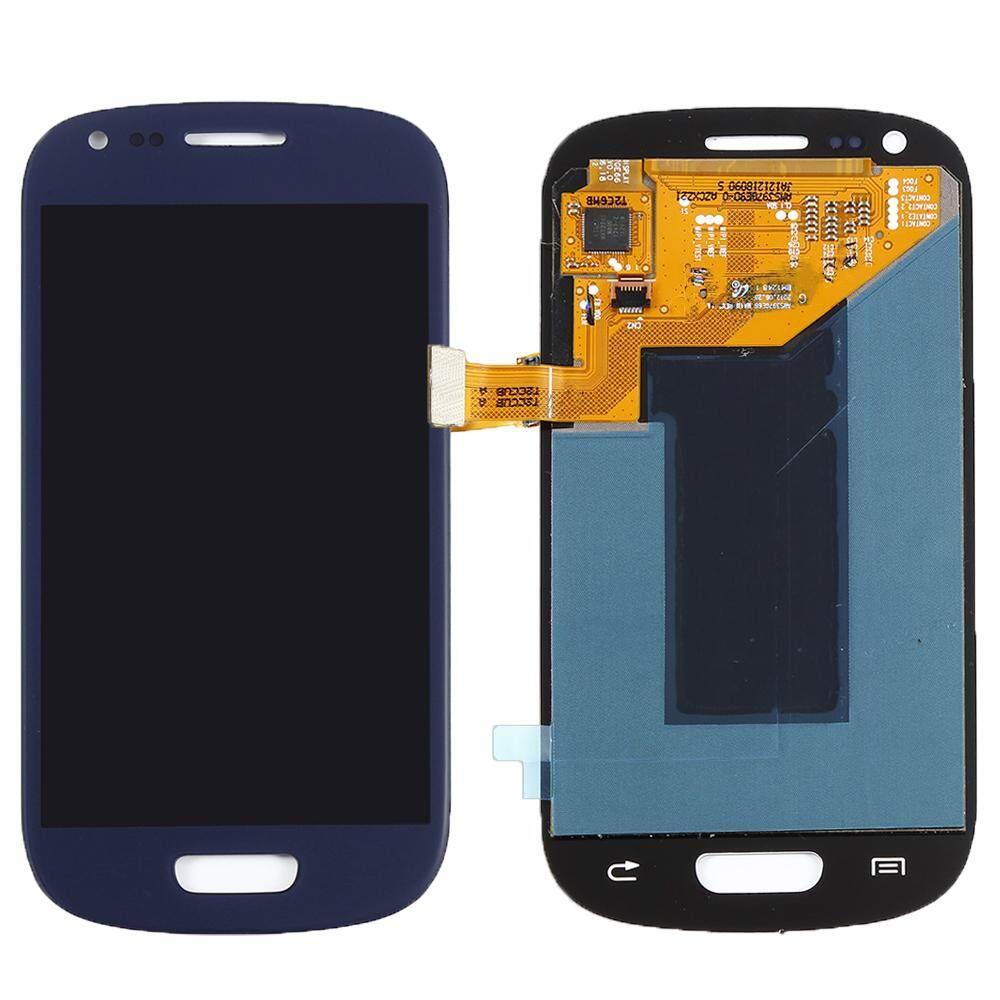 Untuk Samsung Galaxy S3 Layar LCD Mini I8190 GT-i8190 I8195 I8200 Sentuh Layar Digitalisasi Perakitan Penggantian Suku Cadang AAA