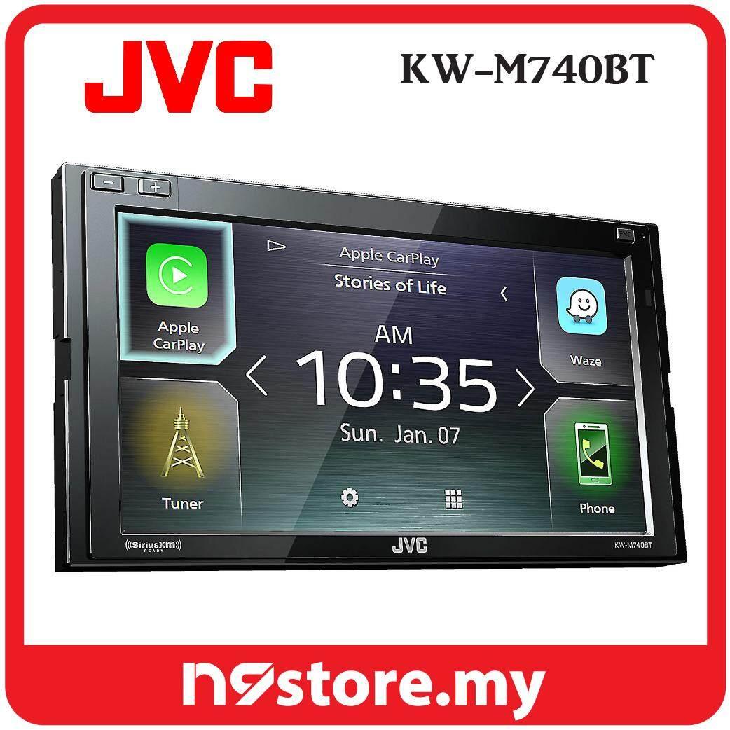 "JVC KW-M740BT 6.8"" Weblink Android Auto Apple Carplay Waze Car Stereo (NO CD)"