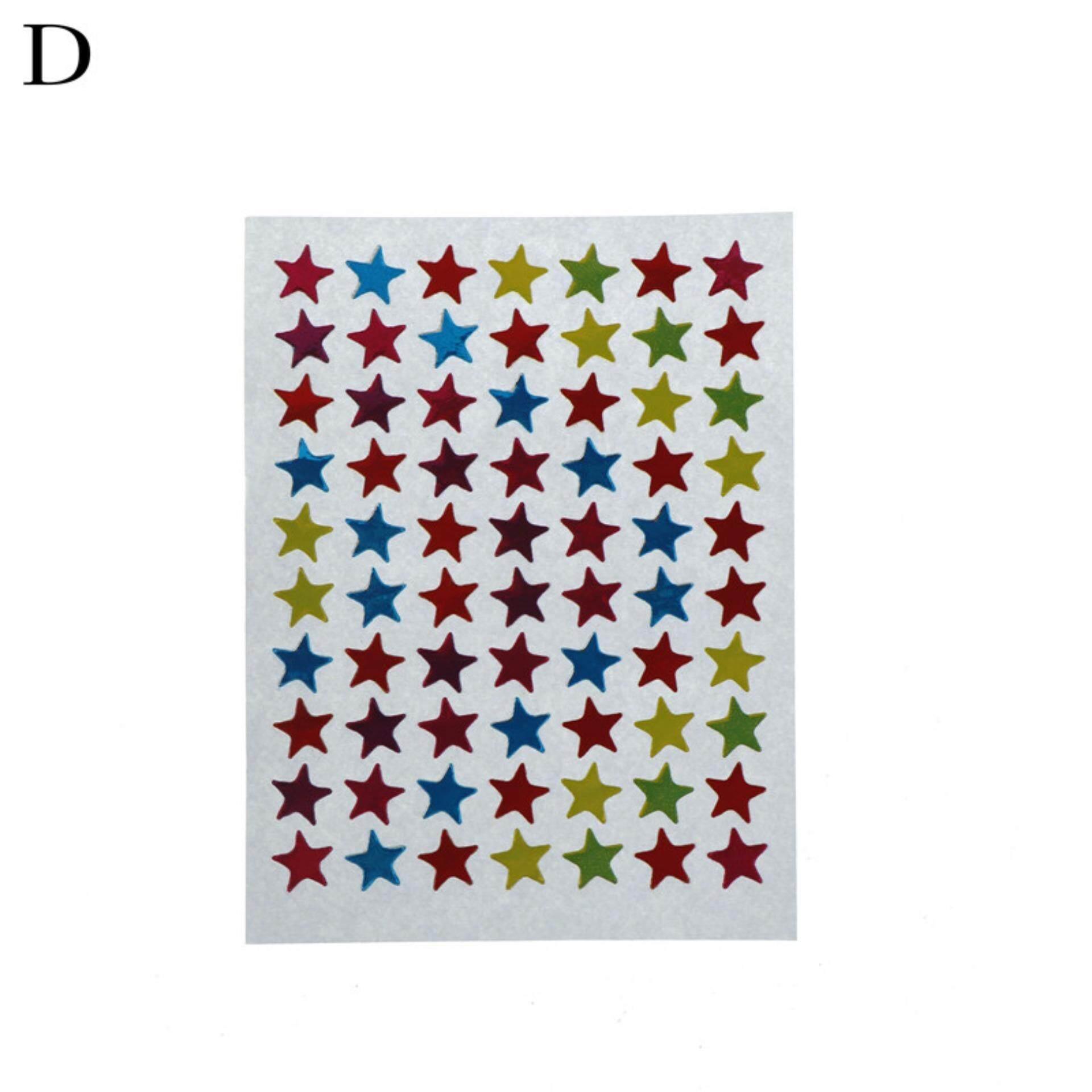 Mua Mini Toàn Phương Star Dán Thẻ Kid Dự Án Bao Niêm Phong Sổ Lưu