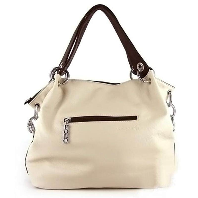 Hiiopiio Fashion Retro Gaya Kulit PU Tas Selempang Tas Jinjing untuk Wanita  Putih . 299a834488