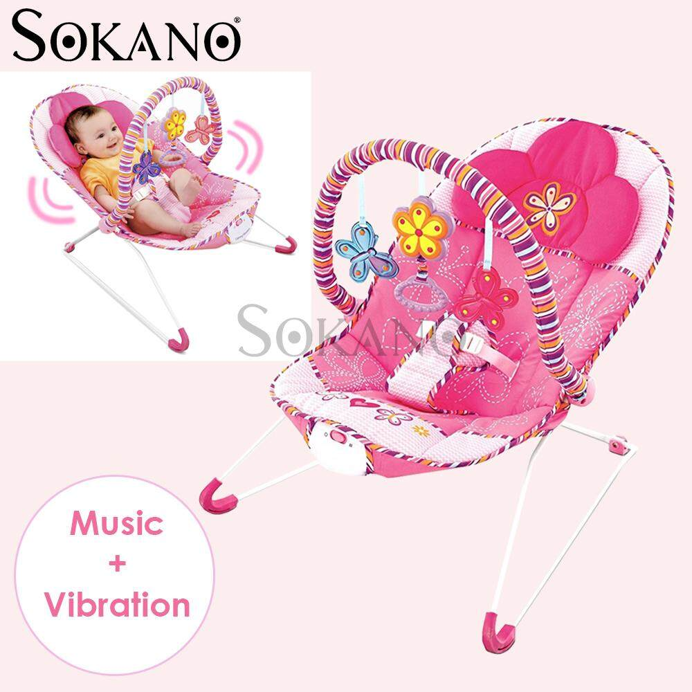 (RAYA 2019) SOKANO Baby Rocker New Born Toddler Chair Rocker