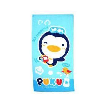 Puku Baby Bath Towel 45*30cm (Blue)