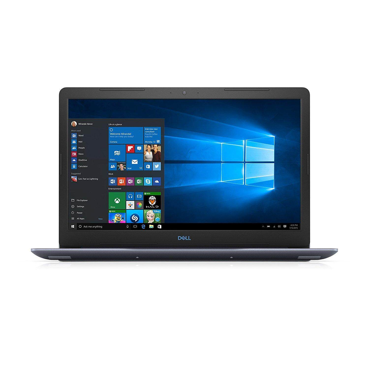 Dell G3 15 Gaming Laptop 15.6 inch, i7-8750H, 8GB DDR4, 256GB SSD, NVIDIA GeForce GTX 1 0 5 0 Ti 4GB GDDR5, Windows 10
