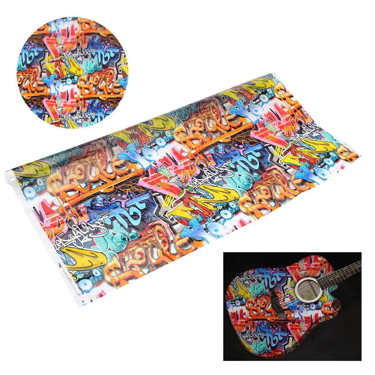 Mua Water Transfer Printing Film Hydrographics Hydro Dipping Graffiti Style # 0.5*10M