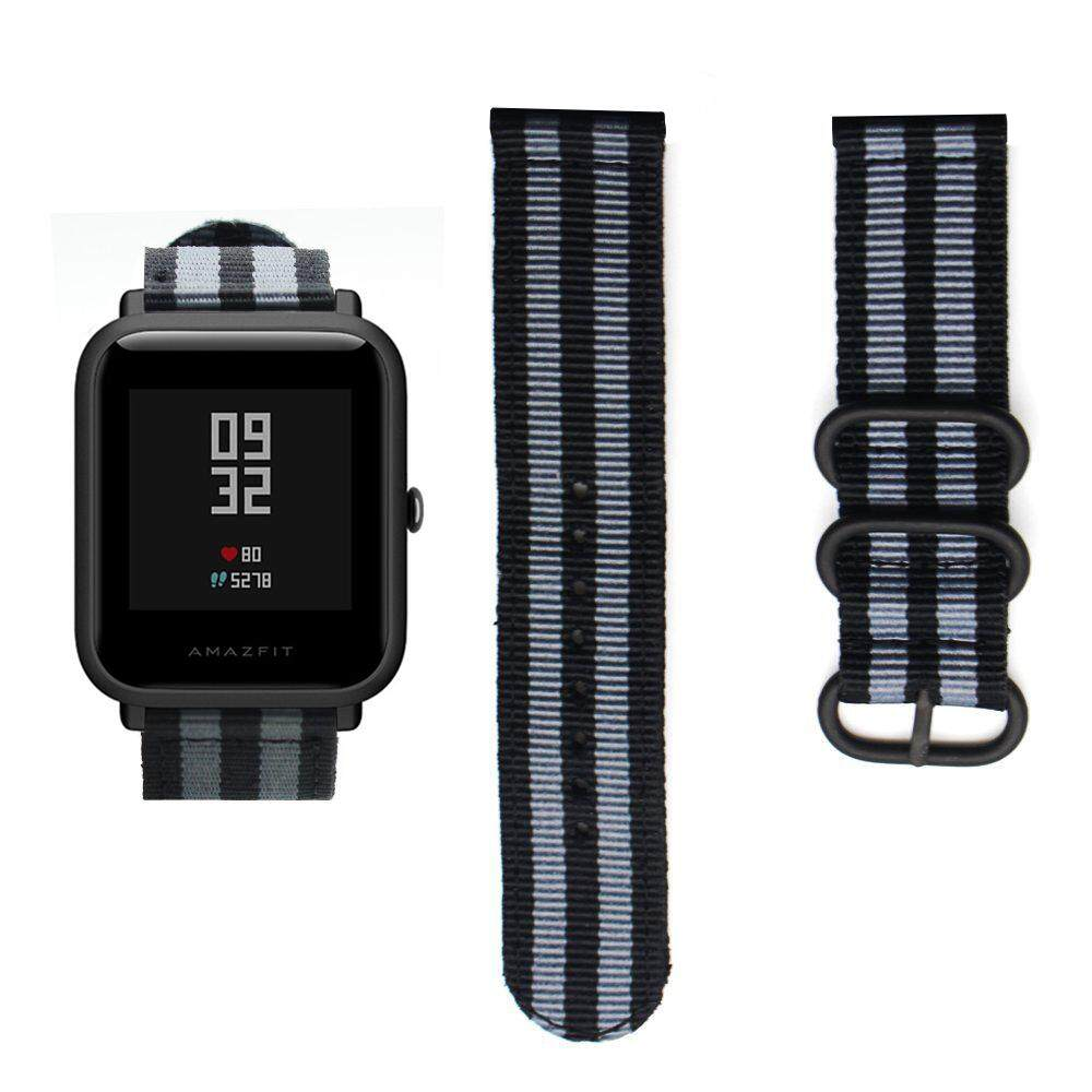 Nylon Wristband for Xiaomi Huami Amazfit Smart Watch Youth Edition Bip BIT PACE Lite Band Strap Bracelet