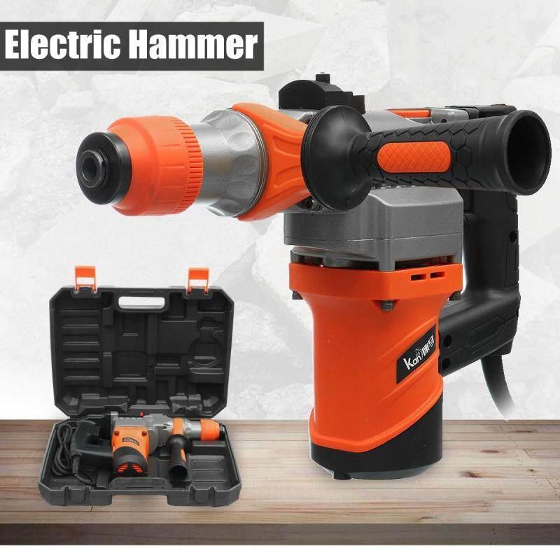 1680/2280W Watt Electric Demolition Jack Hammer Concrete Breaker Punch Metal Box