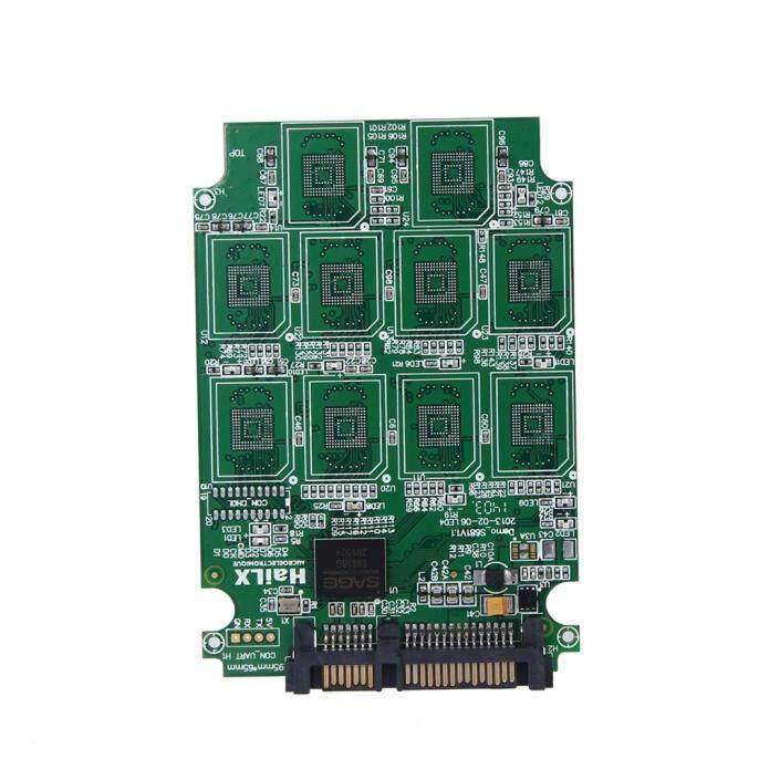 Antives 10 X Mikro SD TF Kartu Memori untuk SATA Adaptor SSD + RAID Quad 2.5 Konverter SATA-Intl