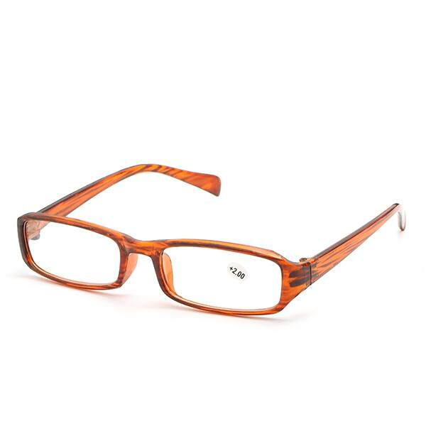 100 Derajat Pria Wanita Tua Kacamata Baca Bahan Resin Ultra Ringan Kacamata  Presbiopi HD Kacamata 72f5c11c3d