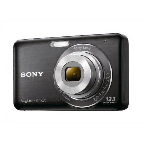 Sony DSC-W310 12.1MP Digital Kamera dengan 4x Lebar Sudut Zoom dengan Digital Steady Shot Citra Stabilization dan 2.7 Inch LCD (Hitam) (Model Lama)-Internasional