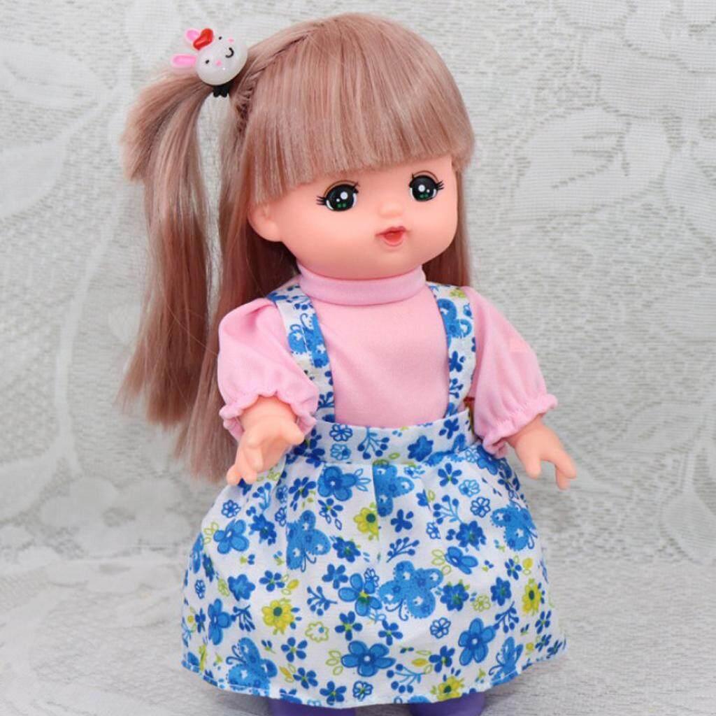 BolehDeals Fashion Clothing False Two-piece Dress Skirt   Hair Band for  Mellchan Doll 54bdc4aa51