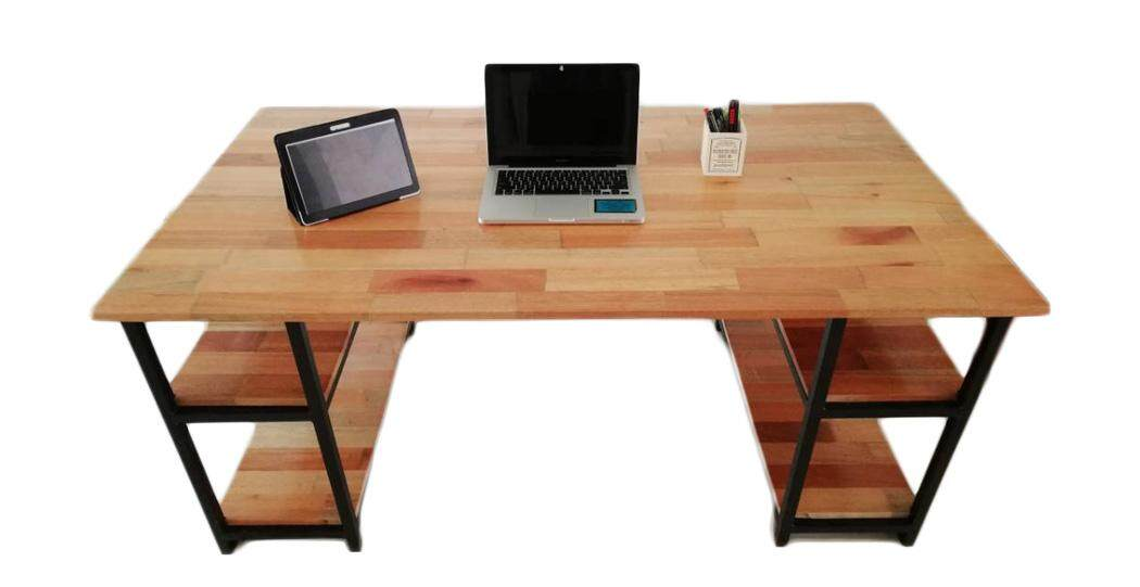 Office Table/Desk with 2 set shelves (Betty)