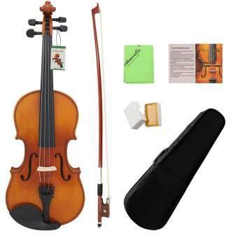 การส่งเสริม ASTONVILLA Durable 4/4 Acoustic Violin with Storage Case Musical Instrument Accessories ซื้อที่ไหน - มีเพียง ฿2,529.00