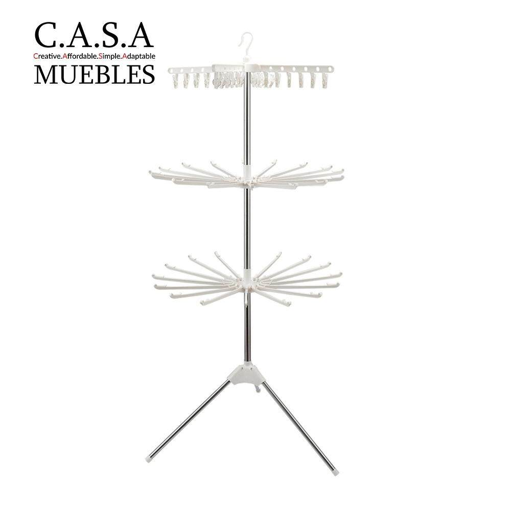 CASA MUEBLES 3 Tier Stand Clothes Drying Rack