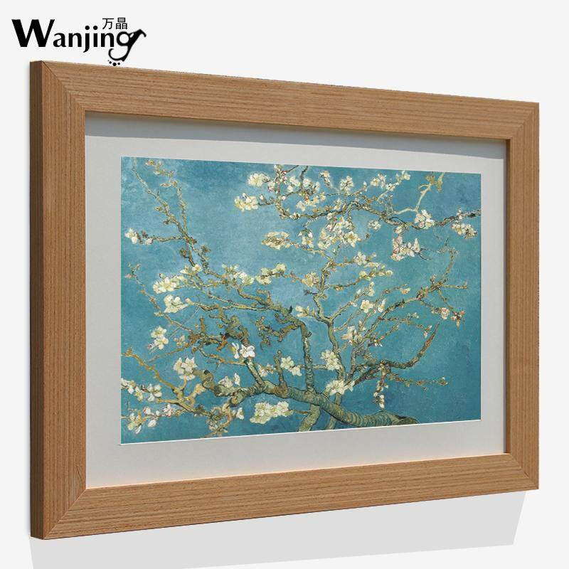 Wooden Photo Frame Puzzle Frame 24 30 36 48 60-Inch Simple hai bao kuang Thick Custom-Built Large Painting Frame Wall