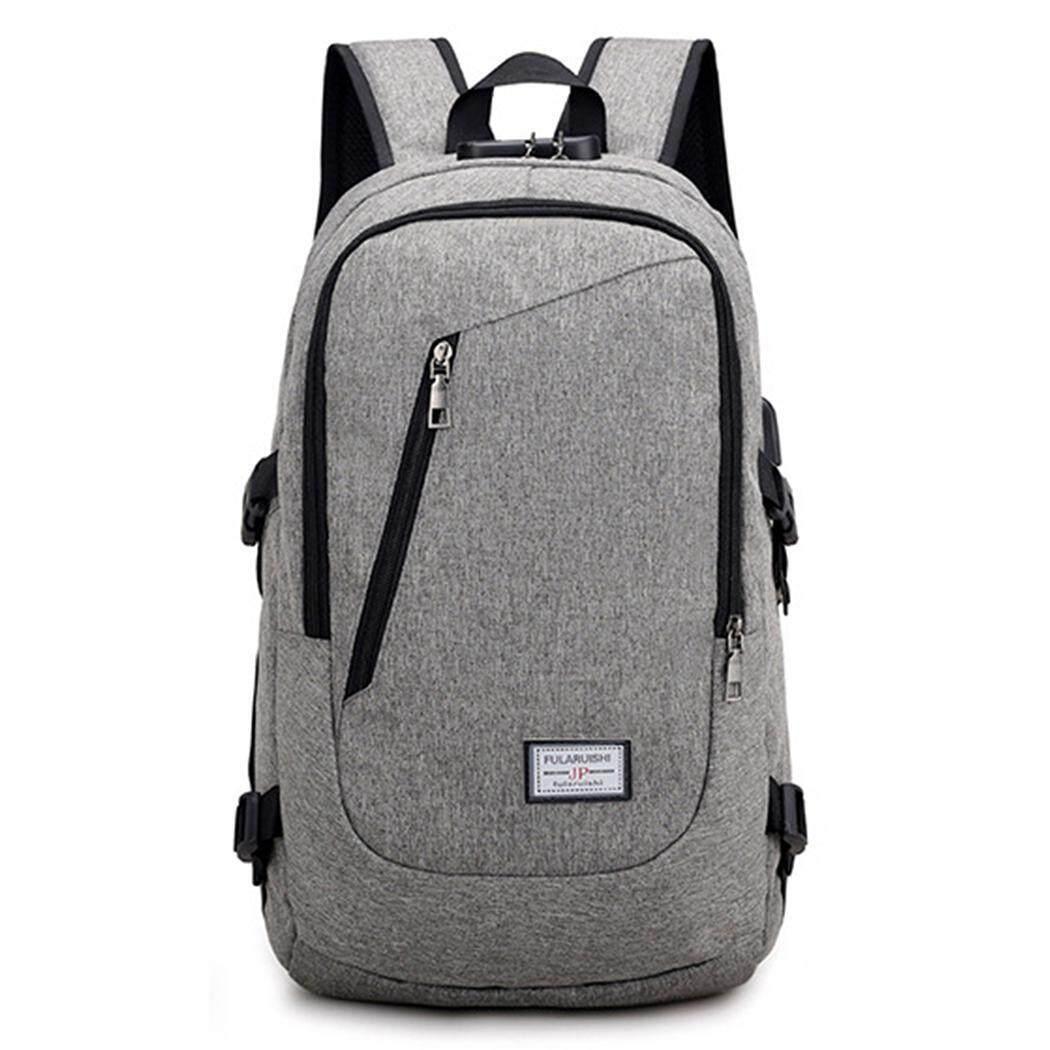 Terbaik Seller ASTAR Multifungsi Bisnis Laptop Ransel Ramping Tas Komputer Anti-pencurian Tahan Air Ransel dengan USB Pengisian Port cocok-Internasional
