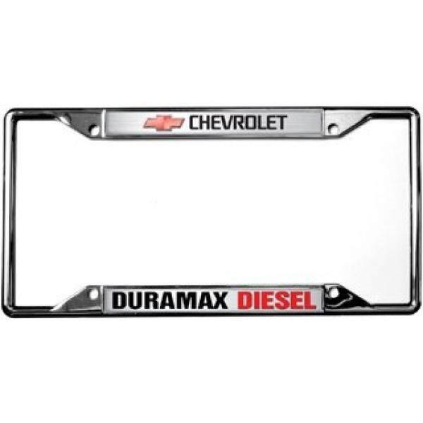 Chevrolet / Duramax Diesel License Plate Frame / From USA