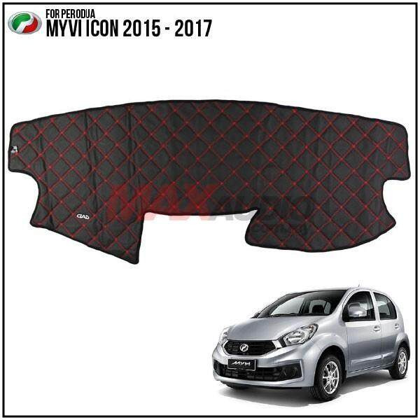 PERODUA MYVI ICON 2015 - 2017 DAD GARSON VIP Custom Made Non Slip Dashboard Cover Mat