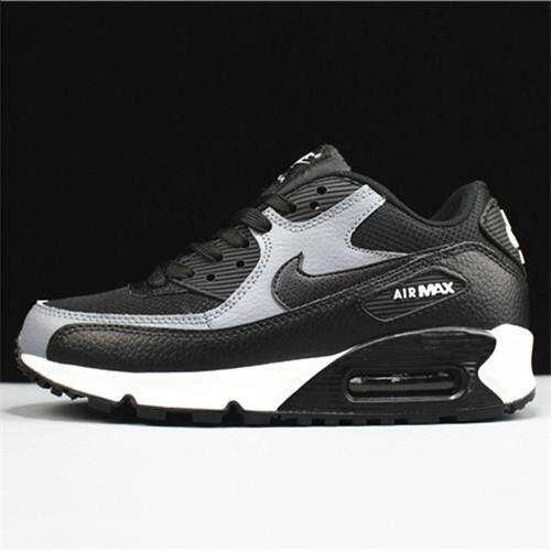 ef66832d793 Nike Official Air Max 90 Low Top High Quality Running Shoe WOMENS ( Black  White )