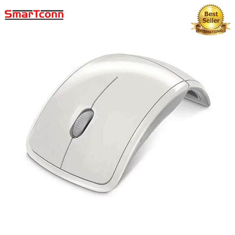 Smartconn Mini 2.4 GHz Nirkabel Dilipat Optik Mouse 1600 DPI Komputer Mouse Lipat Mouse dengan USB