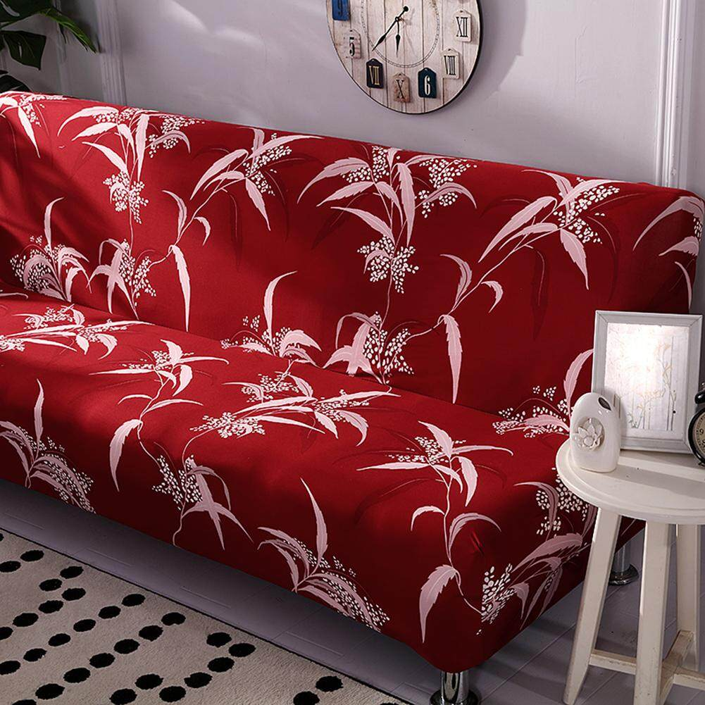 No Armrest Stretch Sofa Cover Slipcover All-Covered Folding Sofa Bed Cover Bed Fitted Sheet Universal Cover Sofa Towel