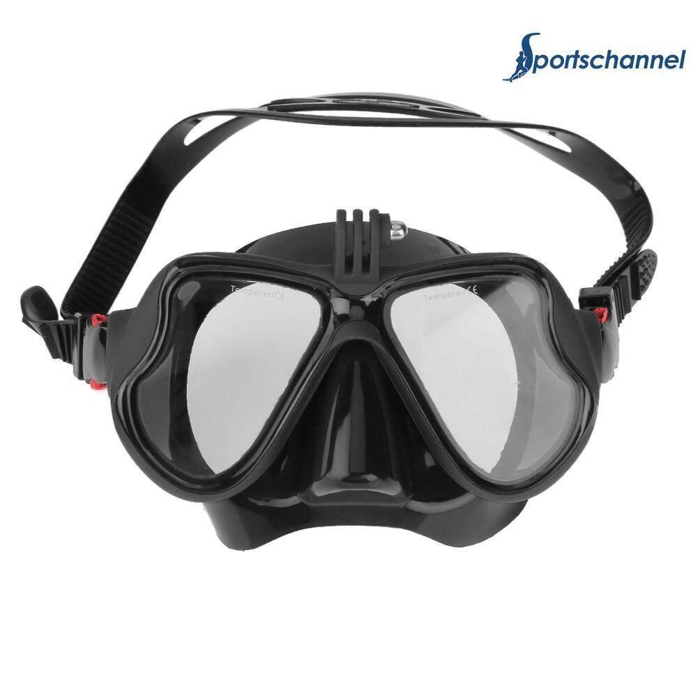 Anti-Fog Underwater Diving Mask Scuba Snorkel - Intl By Sportschannel.