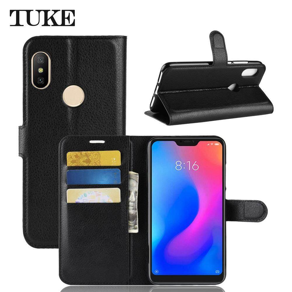 Rp 72.000. Sarung untuk Xiaomi Redmi Note 6 PRO Flip Dompet Kulit Case Tempat Kartu Telepon ...