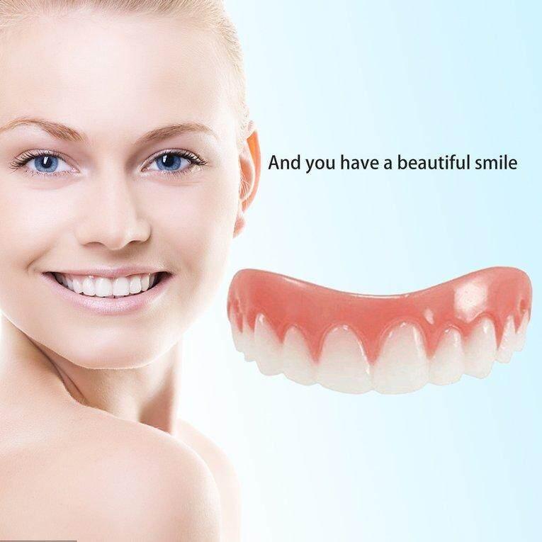 Review Comfortable Silicone Perfect Smile Veneers Men Women
