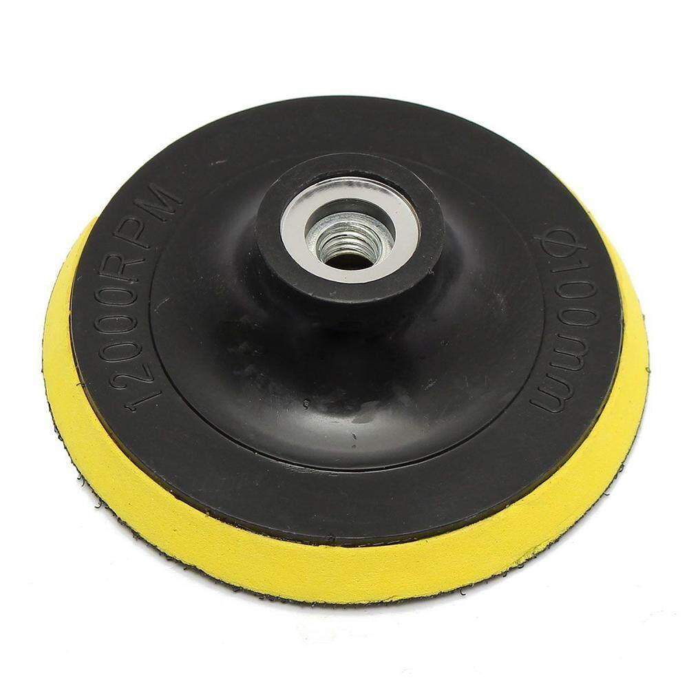 2pcs 100mm Polisher Bonnet Pad Angle Grinder Wheel Polishing Sand Paper Disc By Yomichew.