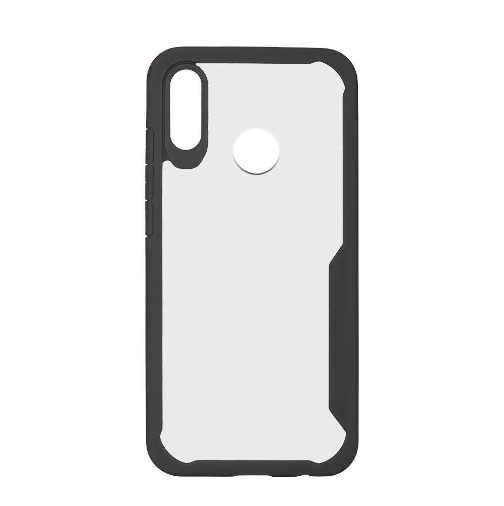 Justgogo Simple Transparent Silicone Phone Case Cover Shockproof for for Huawei P20 Lite Super Light