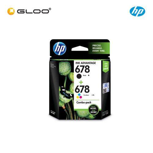 HP 678 (L0S24AA) Combo Pack Ink Cartridge