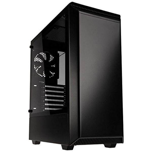 [From.USA]Phanteks Eclipse Steel ATX Mid Tower Tempered Glass Black Cases - PH-EC300PTG_BK B075DMYVBV Malaysia