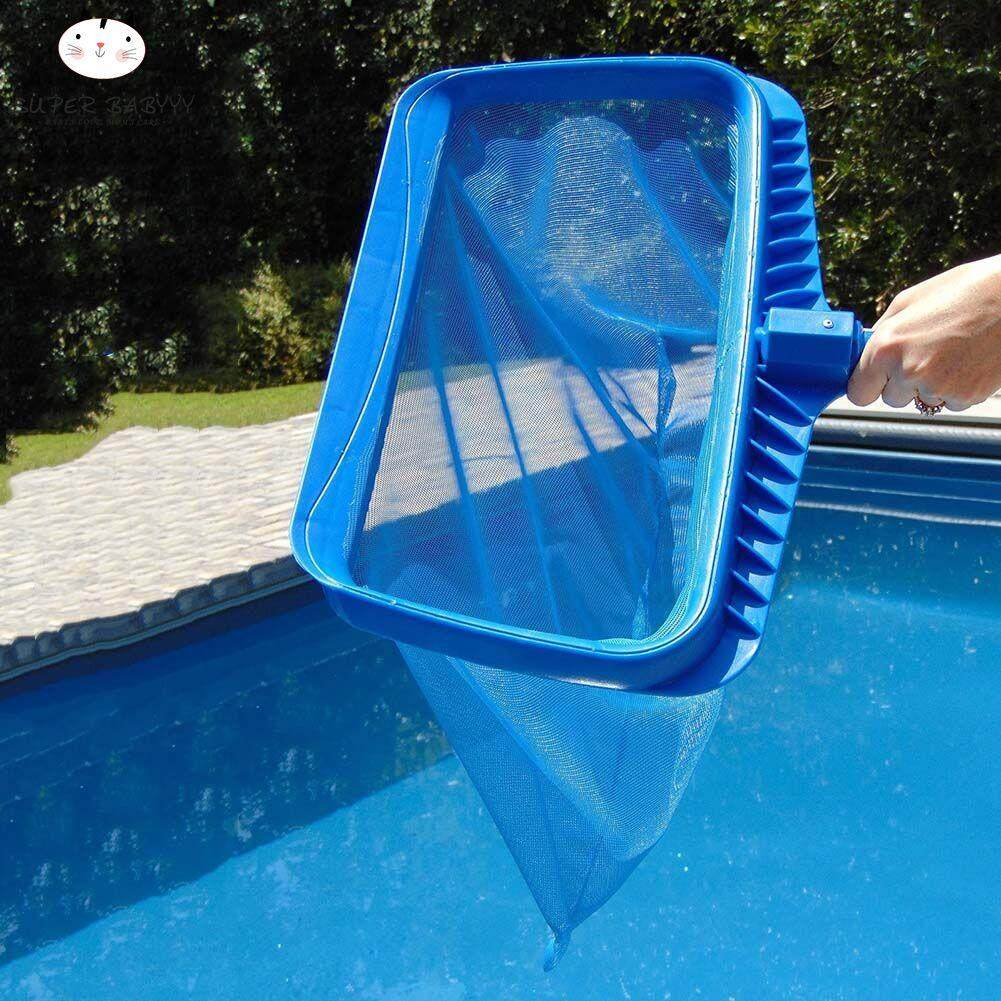 SBY Heavy-duty Deep Water Net Swimming Pool Rake Bag Head Spas Skimmer Pond Pools Leaf Cleaning
