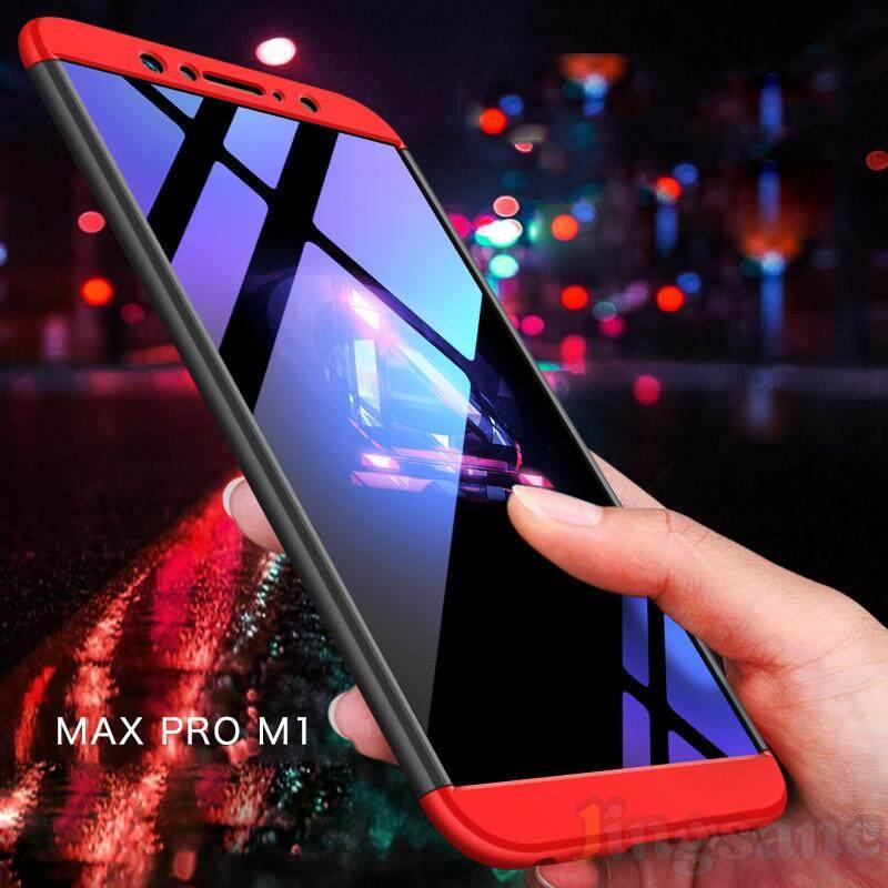 Detail Gambar Untuk Asus ZenFone Max Pro M1 [Gratis Dudukan Cincin] Luxury 360 Gelar Penuh Melindungi 3 In 1 Antiguncang Keras PC Casing Ponsel cover- Intl ...