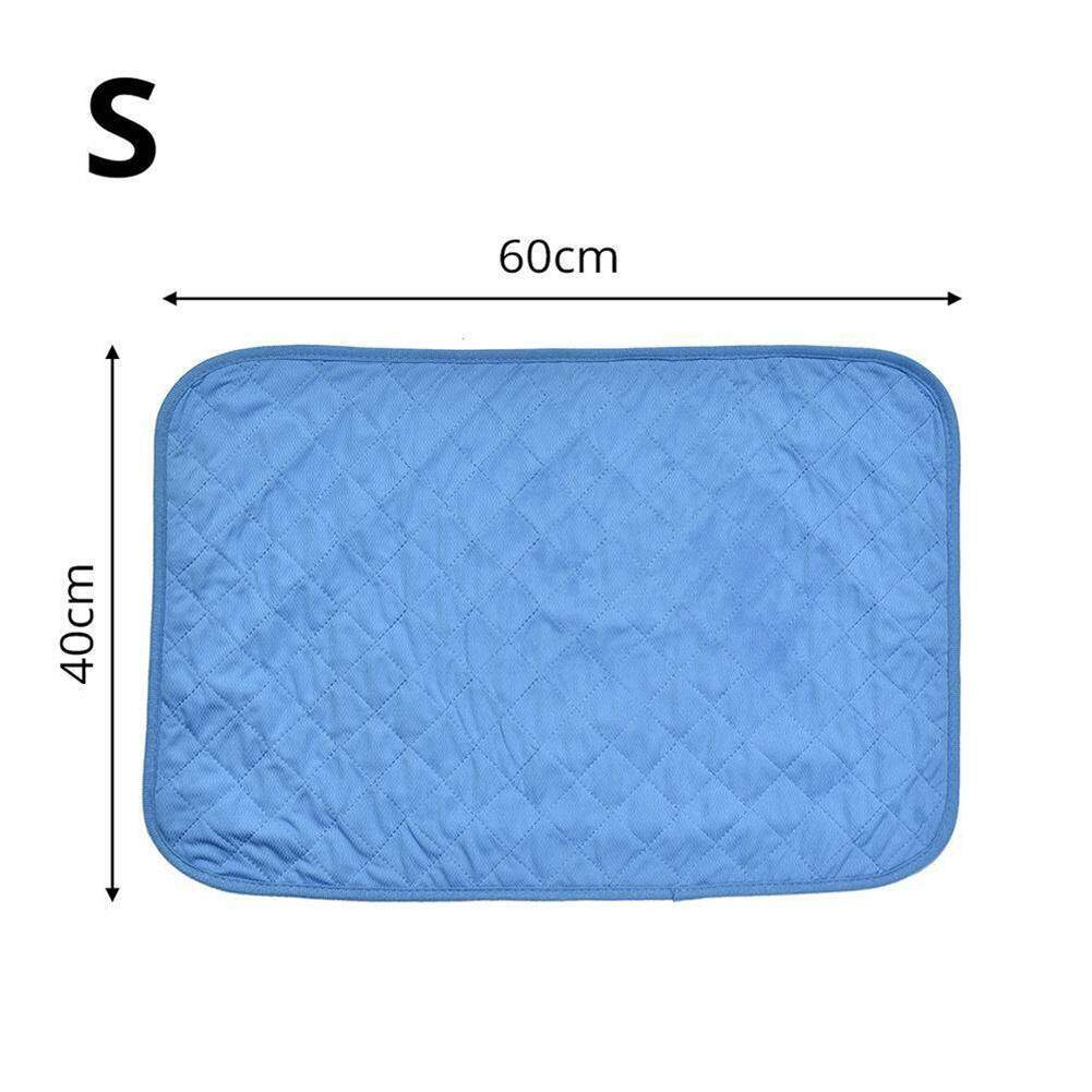 Magic Cube Comfortable Pet Cooling Mat Cool Pad Summer Sleeping Cooling Bed Cushion For Dog Cat Puppy Specification:s 40x60 By Magic Cube Express.
