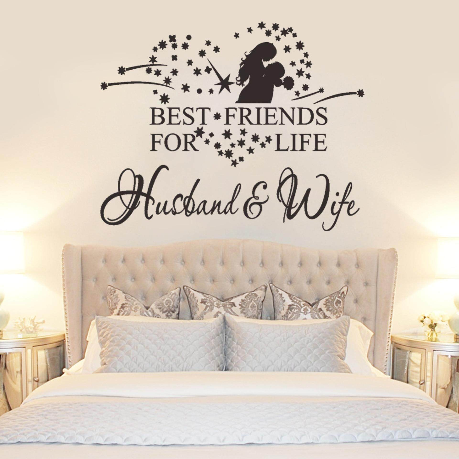 Home Wall Stickers Decals Buy At Wallpaper Sticker 42 Romantic Letters Bedroom Pvc Removable Decal Mural Diy Art Picture Room Decor