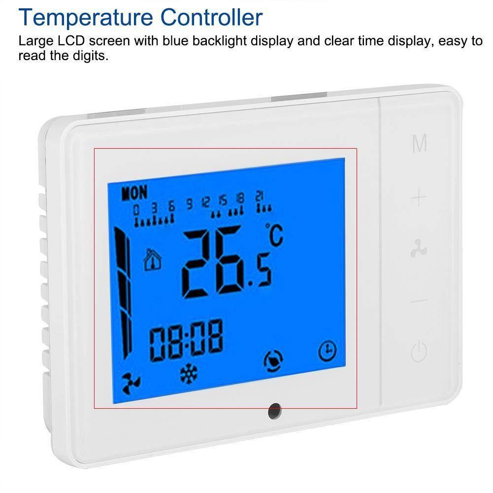 Layar LCD AC Sentral Pengatur Suhu Pendingin Pemanas Thermostat