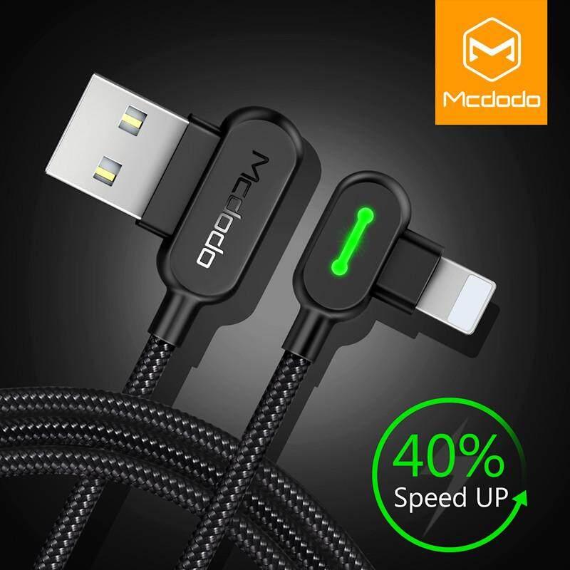 MCDODO 1.2 M untuk iPhone X 8 7 6 5 6 S Plus USB USB Cableway Pengisian Pengisi Daya Telepon